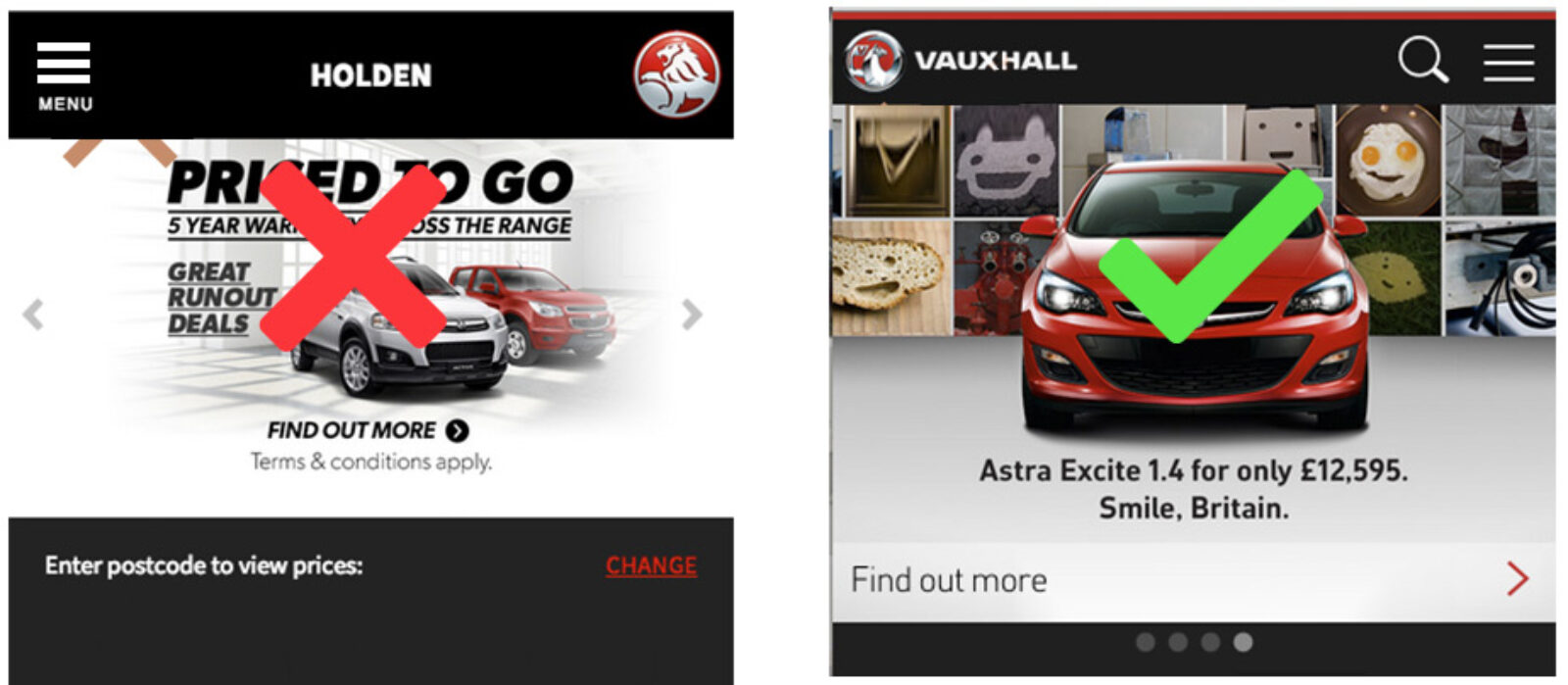 UK Vauxhall site vs Holden site